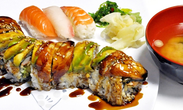 Tensuke Market & Sushi Cafe - Elk Grove Village: $19 for $25 Worth of Sushi and Japanese Food at Tensuke Market. Order Online.
