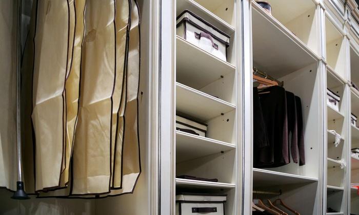 The Closet Sheriff - Washington DC: $79 for $170 Worth of Closet Organization  at The Closet Sheriff