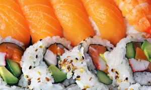 Sushi And Japanese Cuisine At Will Sushi (up To 43% Off). Two Options Available.