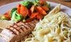 Julia's Restaurants - Multiple Locations: American Cuisine at Julia's Restaurant (40% Off). Two Options Available.