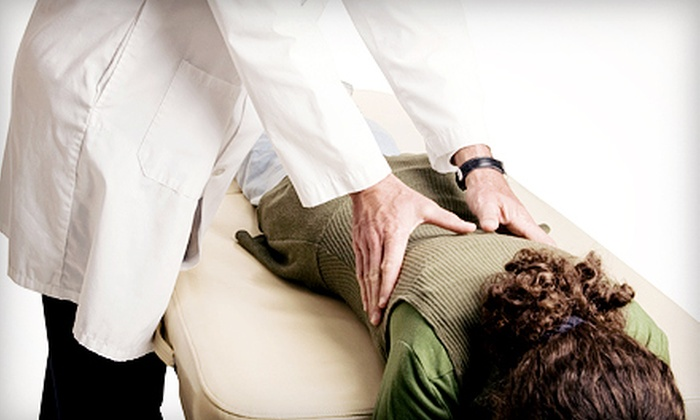 Meylor Chiropractic - La Vista: Exam, X-rays, and One or Three Spinal Adjustments and Traction-Table Treatments at Meylor Chiropractic (Up to 89% Off)