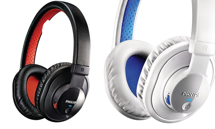 Philips Bluetooth Stereo Headphones with Mic: Philips Bluetooth Stereo Headphones with Mic. Multiple Colors Available. Free Returns.