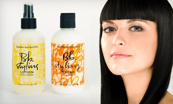 Pro's Choice: $24 for Bumble and bumble Styling Lotion and Styling Crème ($50 List Price)