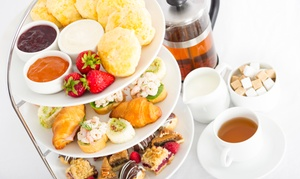 The George Hotel: Afternoon Tea with Optional Prosecco for Two or Four at The George Hotel