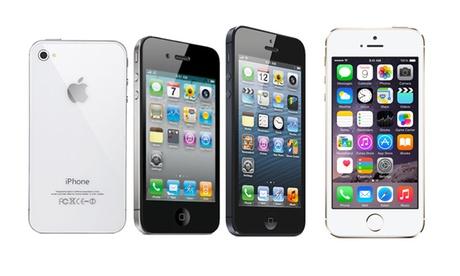 iPhone 4, 4s, 5 e 5s fino a 64 GB ricondizionati. Vari colori disponibili