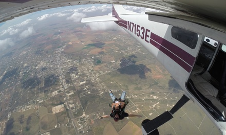 Tandem Skydive for One or Two People at SkyDive West Texas (31% Off)