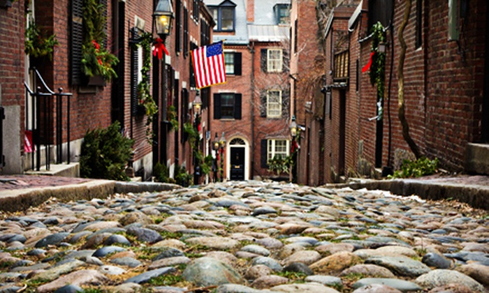 Boston Strolls - Downtown: Historical Walking Tour for Two or Four from Boston Strolls (Up to 58% Off)