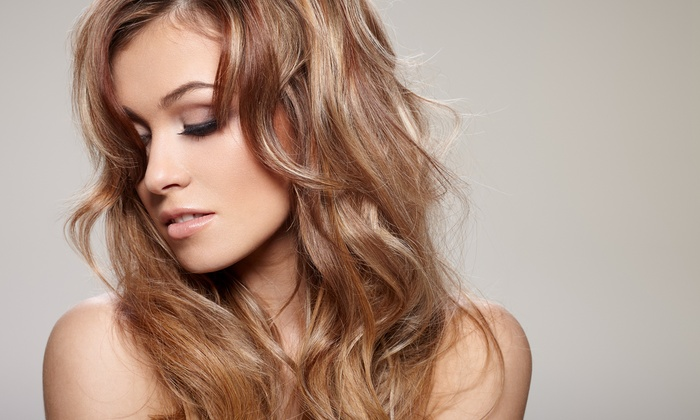 Chansone Gavieres at Salon De Marcus - Marina: Haircut and Coloring Packages at Chansone Gavieres @ Salon De Marcus (Up to 58% Off). Three Options Available.