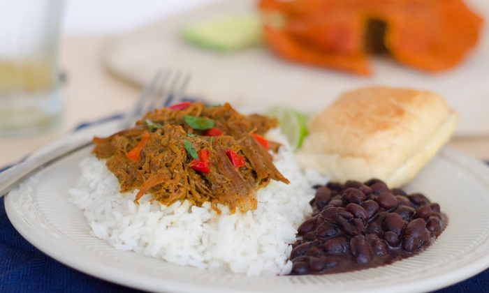 Cafe El Mundo Cubano - Spring Valley: Cuban Food at Cafe El Mundo Cubano (Up to 50% Off). Two Options Available.