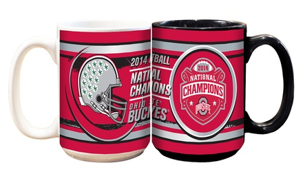 2-Pack of Ohio State Buckeyes 2014 National-Champions Mugs