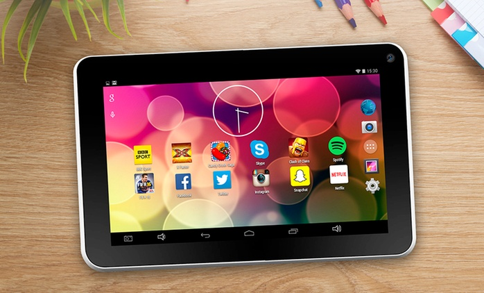 """7"""" Quad Core Android 5.0 Lollipop HD Tablet for £39.98 With Free Delivery (71% Off)"""