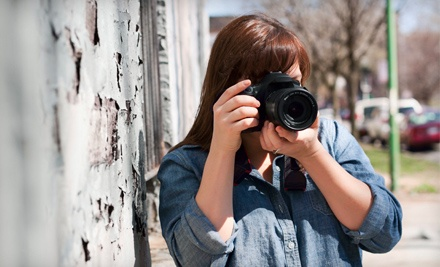 Half-Day DSLR Photography Workshop for One or Two at Dean Oros Photography + Design (Up to 89% Off)