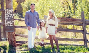 LA Exposures: $99 for a Family Photo Shoot with CD of Retouched Images from LA Exposures ($1,295 Value)
