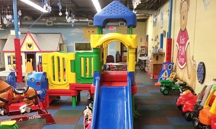 Kids' Fun Stop - West Roxbury: 2, 5, or 10 Groupons, Each Good for One Drop-In Play Visit for One Child at Kids' Fun Stop (Up to 48% Off)
