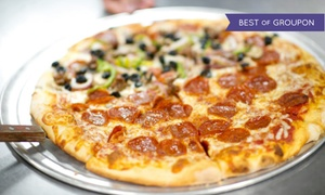 Steel City Pizza : Two Groupons, Each Good for $15 Worth of Italian Cuisine at Steel City Pizza Company  (40% Off)
