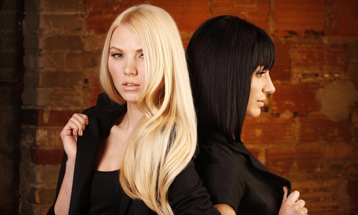 Visions Salon & Spa - City Park: $25 for $50 Worth of Hair Services at Visions Salon & Spa