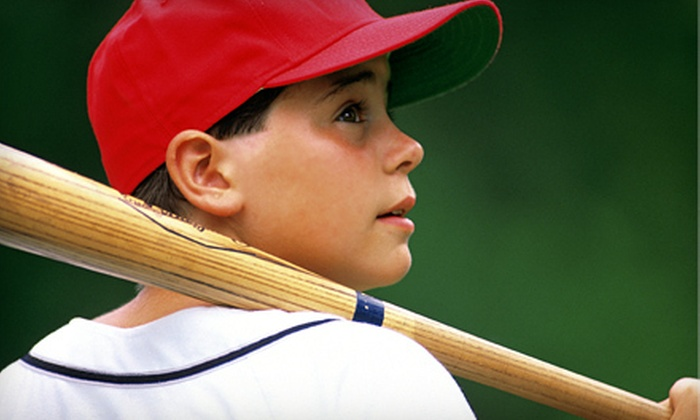 Santa Cruz Baseball School - Multiple Locations: One Week of Children's Baseball Camp at Santa Cruz Baseball School (53% Off). Three Dates Available.