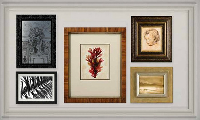 The Great Frame Up - Madison: Custom Framing at The Great Frame Up (Up to 55% Off). Two Options Available.