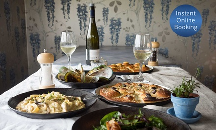 3 Course Italian Set Menu with Beer or Wine for Two ($49), Four ($95) or Six People ($139) at Menopa (Up to $276 Value)