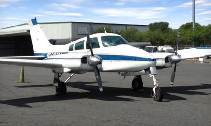 Jacksonville Flight Training - Herlong: 30 or 90 Minutes of Flight Training with One Hour of Ground School at Jacksonville Flight Training (Up to 55% Off)