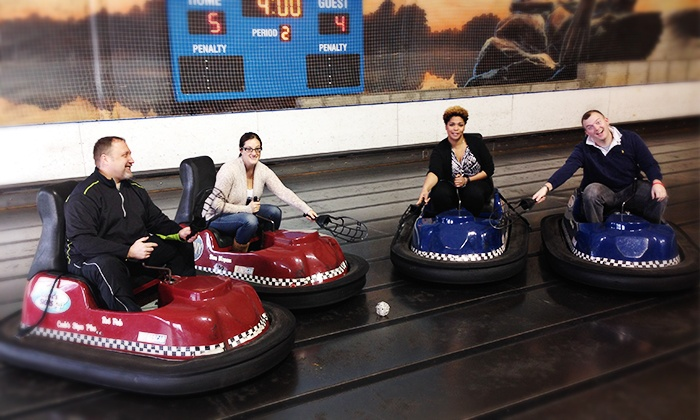 Joe Dumars Fieldhouse - Shelby Township: Whirlyball Outing for 15 with Pizza & Drinks at Joe Dumars' Fieldhouse in Shelby Township (up to $219.85 Value)