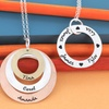 Personalized Circle of Life Name Necklace