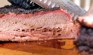 Gebby's BBQ and Catering, Inc: $15 for Two One-Meat Plates with Two Sides at Gebby's BBQ and Catering, Inc ($21 Value)