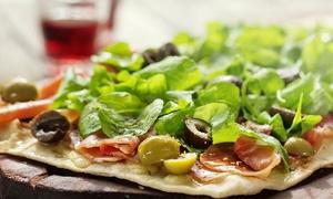 1893 Pizza a la parrilla: Desde $199 por 2 o 4 empanadas + 1 o 2 pizzas a la parrilla + 1 o 2 cervezas para 2 o 4 en 1893 Pizza a la parrilla