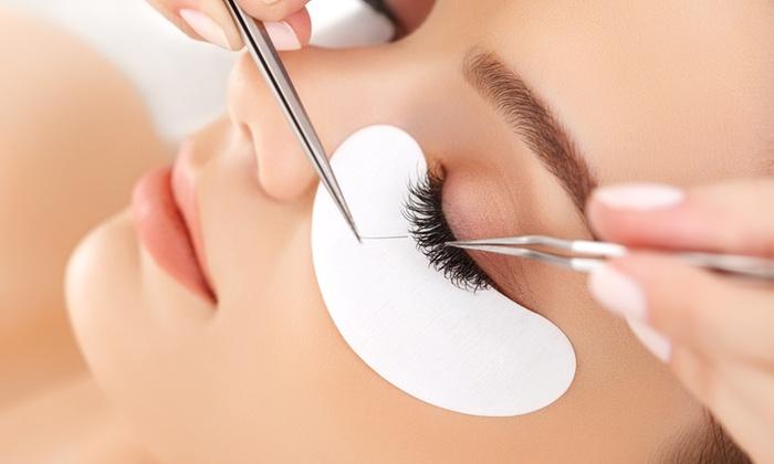 Natural Glam Spa - Laguna Niguel: Full Set of Natural Eyelash Extensions with Optional Fill at Natural Glam Spa (51% Off)