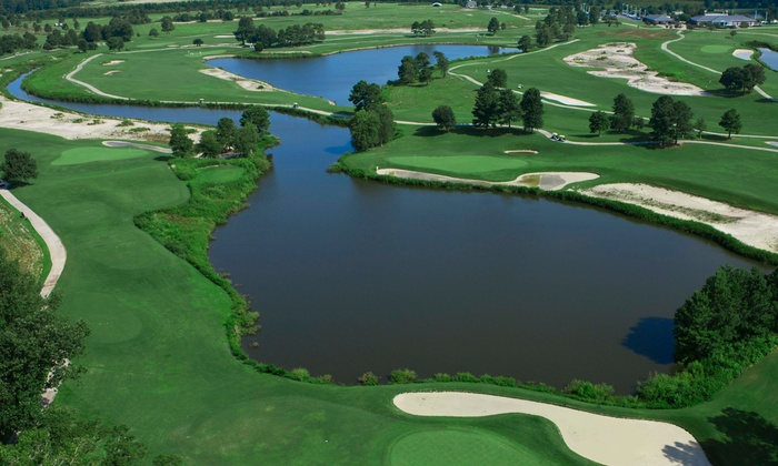 Virginia Beach National Golf Club - Virginia Beach National Golf Club: $59 for 3 Rounds of Golf, Range Balls, and Cart  at Virginia Beach National Golf Club (Up to $210 Value)
