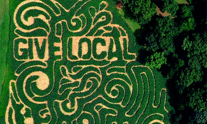 Eliada's Annual Corn Maze - Asheville: Eliada's Annual Corn Maze with Corn Cannons and Other Attractions for Two or Four (Up to 53% Off)