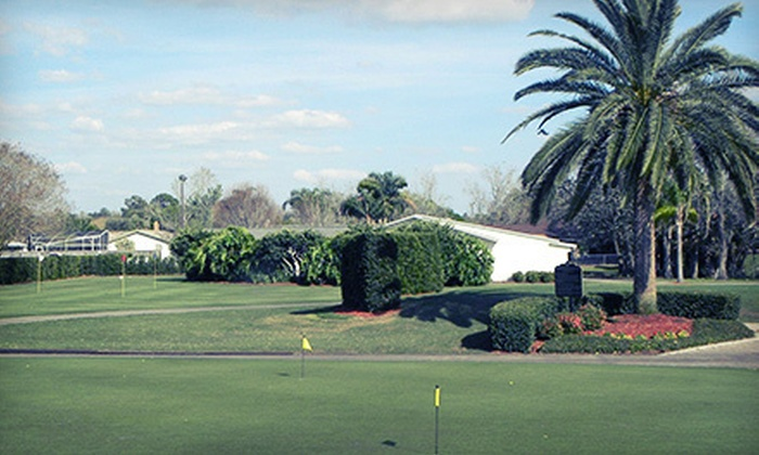 Winter Pines Golf Club - Golfside: 18 Holes of Golf for Two or Four with Range Balls and Hot Dog Lunch at Winter Pines Golf Club in Winter Park (Up to 53% Off)