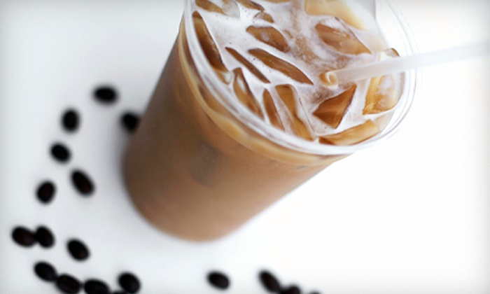 Lush Coffee & Tea - Vista: $10 for Five 16-Ounce Drinks at Lush Coffee & Tea (Up to $22.45 Value)
