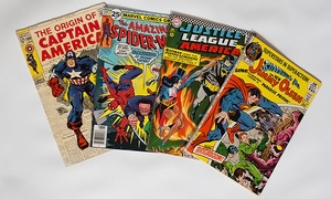 Comic Book Headquarters: $37 for 50–75 Classic Comic Books & 100 Vintage Baseball Cards from Comic Book Headquarters ($550 Value)