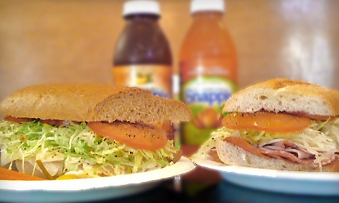 The Sub Station - Canyon Crest,University: $10 for $20 Worth of Sub Sandwiches and Drinks at The Sub Station in Riverside