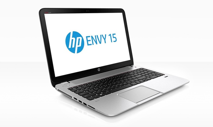 "HP Envy 15.6"" 1080p TouchSmart Laptop: HP Envy 15.6"" 1080p HD TouchSmart Laptop with 12GB RAM & Beats Audio 15-j063cl (Manufacturer Refurbished). Free Returns."