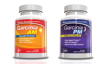Garcinia AM and PM Supplements