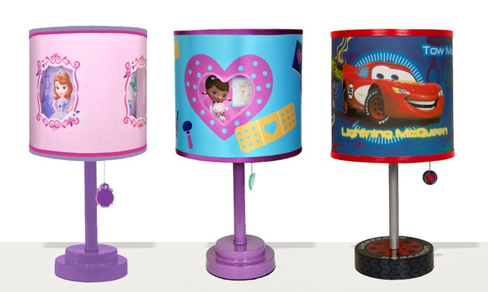 Kids cartoon themed table lamps groupon kids cartoon themed table lamps aloadofball Choice Image