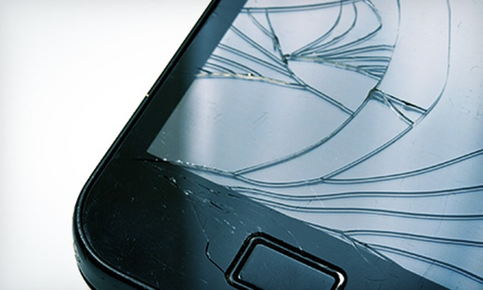 iSmart - Affton: Screen Replacement for a Samsung Galaxy S3 or Note 2 or an iPhone 3, 3GS, 4, or 4S at iSmart (Up to 75% Off)