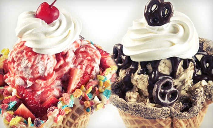 Marble Slab Creamery - Broadlands: Ice Cream and Frozen Yogurt or Catering at Marble Slab Creamery (Half Off)