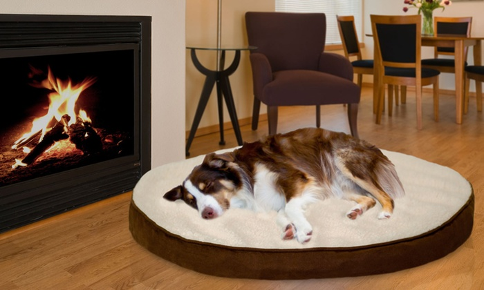 Deluxe Foam Core Faux Sheepskin and Suede Orthopedic Pet Mattresses: Deluxe  Foam Core Faux Sheepskin and Suede Orthopedic Pet Mattress. Multiple Sizes from $18.99–$34.99. Free Returns.