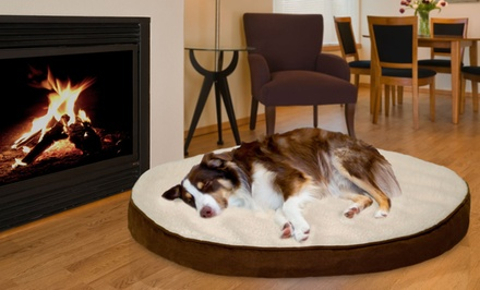 Deluxe  Foam Core Faux Sheepskin and Suede Orthopedic Pet Mattress. Multiple Sizes from $18.99–$34.99. Free Returns.