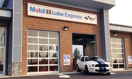 One Standard Oil Change at Mobil 1 Lube Express (Up to 43% Off)