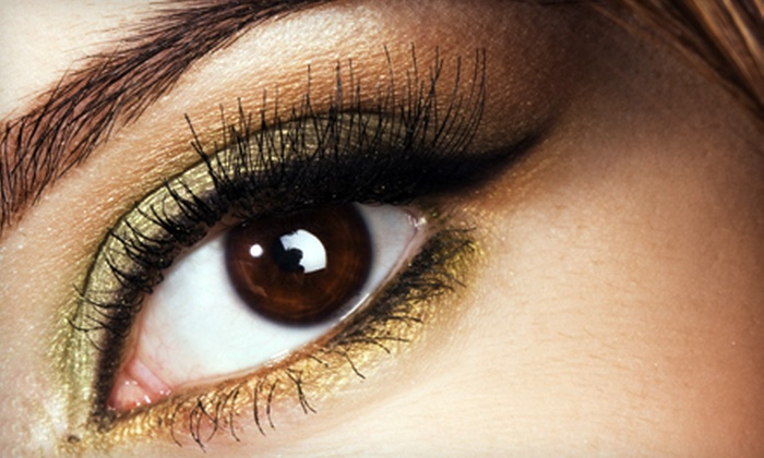 iCandy Eye Salon - Multiple Locations: Eyelash Perm, 10 Brow Threadings, Eyelash Extensions, or Eyelash-Extension Program at iCandy Eye Salon (Up to 55% Off)