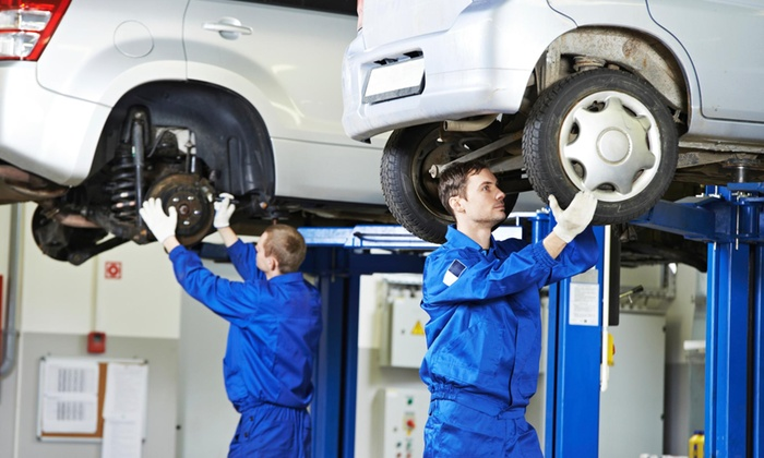 Car Care Central - Multiple Locations: Brake-Pad Replacement and Inspection from Car Care Central (50% Off)