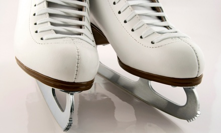 Ice Skating and Skate Rental for Two, Four, or Six at Arcadia Ice Arena (Up to 58% Off)