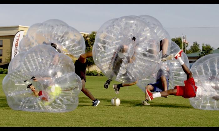 Knockerball Hampton Roads - Hampton Roads: $198 for $360 Worth of Indoor Soccer — Knockerball Hampton Roads
