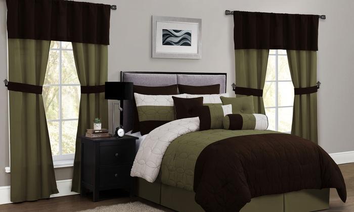 Lenox 20 Piece Room In A Bag Comforter Set: Lenox 20 ...