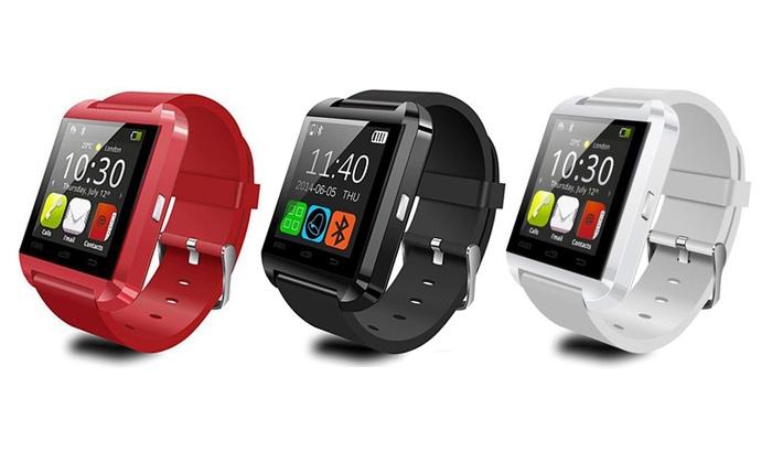 """EveMotion: Smart Watch mit 1,48"""" Touchscreen in Schwarz, Weiß oder Rot inkl. Versand (66% sparen*)"""