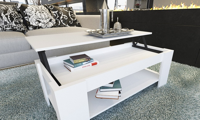 Lift Top Coffee Table 61 Off Groupon Goods